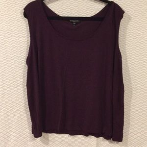 Eileen Fisher 100% silk tank top 3x